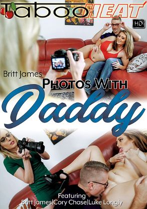 Straight Adult Movie Britt James In Photos With Daddy - front box cover