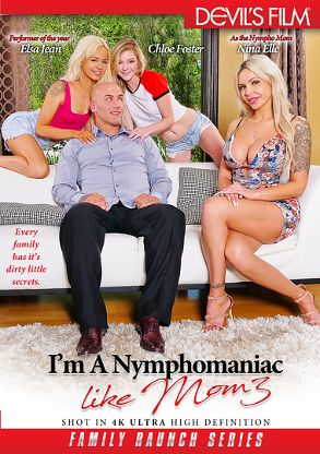 Straight Adult Movie I'm A Nymphomaniac Like Mom 3 - front box cover