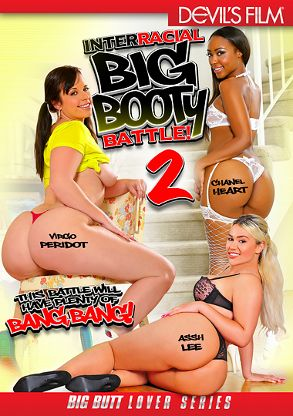 Straight Adult Movie Interracial Big Booty Battle 2 - front box cover