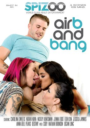 Straight Adult Movie Air B And Bang - front box cover