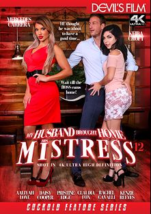 My Husband Brought Home His Mistress 12, starring Keira Croft, Mercedes Carrera, Claudia Fox, Daizy Cooper, Rachael Cavalli, Kenzie Reeves, Pristine Edge, Aaliyah Love and John Strong, produced by Devil's Film and Devils Film.