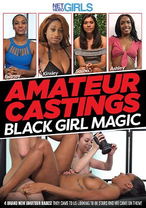 Straight Adult Movie Amateur Castings Black Girl Magic - front box cover
