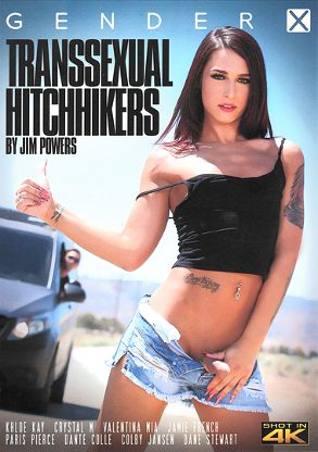 Straight Adult Movie Transsexual Hitchhikers - front box cover