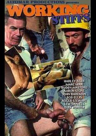 Working Stiffs, starring Harley Behr, Dirk Hunter, Marc Mann, Roger Stewart, John Bareman, Bob Ellis, Aaron Stone, Lew Daniels and Buddy Masturs, produced by Altomar.
