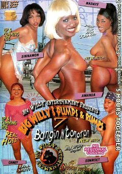 "Adult entertainment movie ""Big Willy's Pumps And Rumps 7"" starring Nadaye, Sunset & Amanda. Produced by Sunshine Films."
