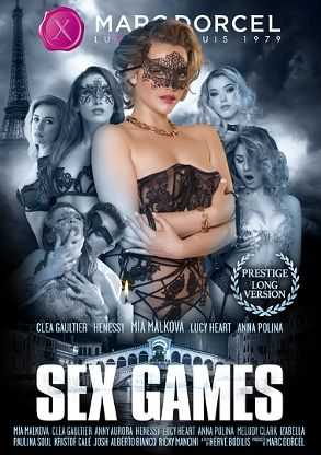 Straight Adult Movie Sex Games - front box cover