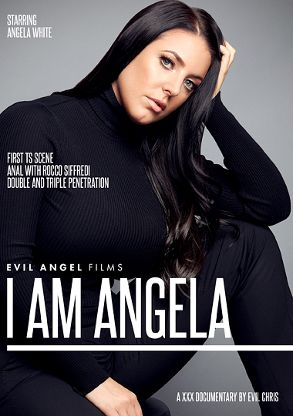 Straight Adult Movie I Am Angela - front box cover