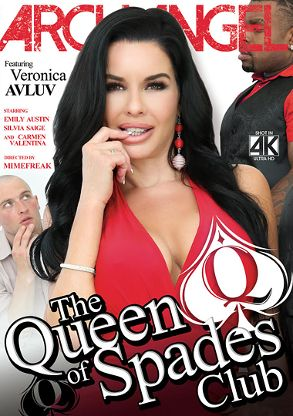 Straight Adult Movie The Queen Of Spades Club - front box cover