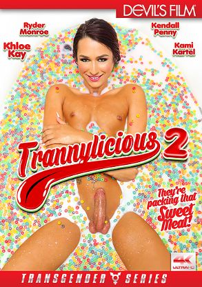 Straight Adult Movie Trannylicious 2 - front box cover