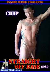 Gay Adult Movie Straight Off Base: Solo Chip