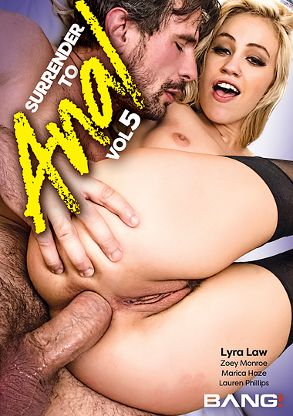 Straight Adult Movie Surrender To Anal 5 - front box cover