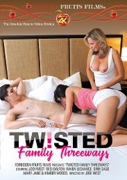 """Just Added presents the adult entertainment movie """"Twisted Family Threeways""""."""