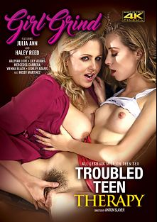 Troubled Teen Therapy, starring Haley Reed, Julia Ann, Vienna Black, Lily Adams, Mercedes Carrera, Aaliyah Love, Ashley Adams and Missy Martinez, produced by Girl Grind.