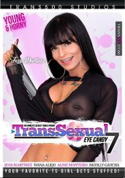 "Just Added presents the adult entertainment movie ""Transsexual Eye Candy 7""."