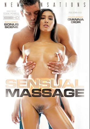Sensual Massage, starring Gianna Dior, Kenna James, Candice Dare, Honey Moons, Ramon Nomar and Steve Holmes, produced by New Sensations.