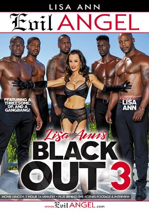 Straight Adult Movie Lisa Ann's Black Out 3