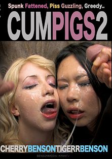 Cum Pigs 2, starring Tigerr Benson and Cherry Benson, produced by Benson Media Productions.