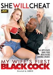 """Just Added presents the adult entertainment movie """"My Wife's First Black Cock""""."""