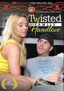 Twisted Family Handlove, starring Kennedy Leigh, Bunny Brooks, Payton Simmons, Lillian Tesh, Trey Balls, Raven LeChance, Jimmy Legend, Lexi Summers, Jodi West, Cory Chase, Tara Holiday, Brandi Love, Peter Delmar, Jay West and Bunny Luv, produced by Forbidden Fruits Films.