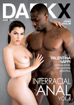 Straight Adult Movie Interracial Anal 6 - front box cover