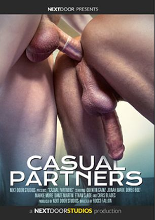 Casual Partners, starring Jonah Marx, Quentin Gainz, Chris Blades, Derek Bolt, Dante Martin, Markie More and Ethan Slade, produced by Next Door Studios.
