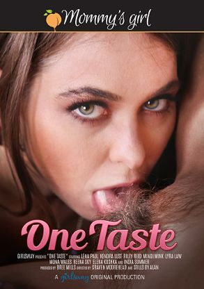 Straight Adult Movie One Taste - front box cover