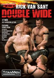 Gay Adult Movie Double Wide: The Best Of Rick Van Sant