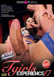 """Just Added presents the adult entertainment movie """"TGirls Experience 17""""."""