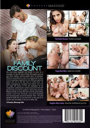Straight Adult Movie The Family Discount - back box cover