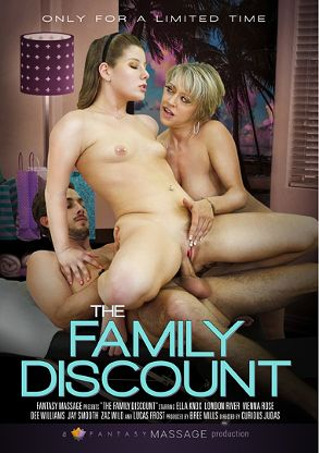 Straight Adult Movie The Family Discount - front box cover