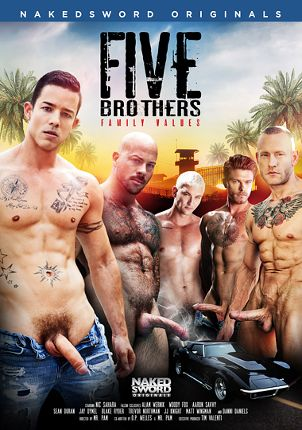 Gay Adult Movie Five Brothers: Family Values