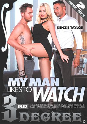 Straight Adult Movie My Man Likes To Watch - front box cover