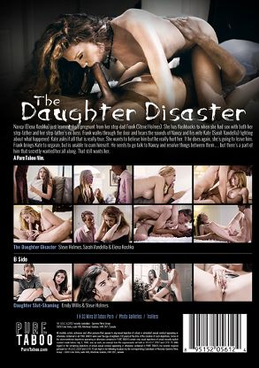 Straight Adult Movie The Daughter Disaster - back box cover
