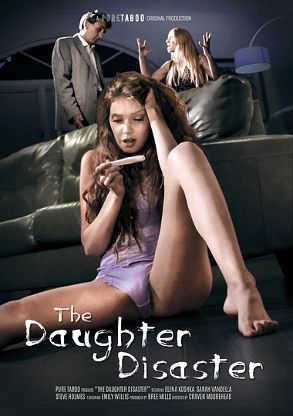 Straight Adult Movie The Daughter Disaster - front box cover