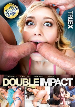 Straight Adult Movie Double Impact - front box cover