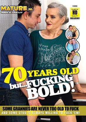 Straight Adult Movie 70 Years Old But Fucking Bold - front box cover