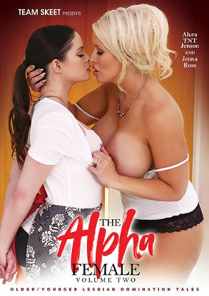 Straight Adult Movie The Alpha Female 2 - front box cover