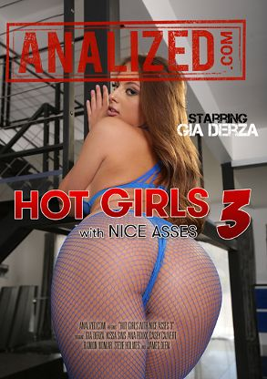 Straight Adult Movie Hot Girls With Nice Asses 3 - front box cover