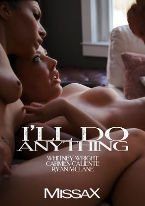 Straight Adult Movie I'll Do Anything - back box cover