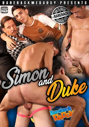 Gay Adult Movie Simon And Duke - back box cover