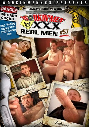 Gay Adult Movie Real Men 57 - front box cover