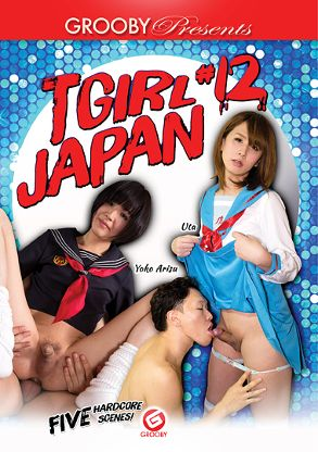 Straight Adult Movie TGirl Japan 12 - front box cover