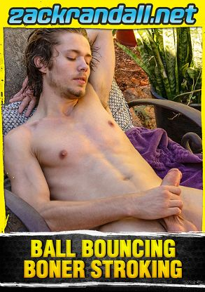 Gay Adult Movie Ball Bouncing Boner Stroking - front box cover