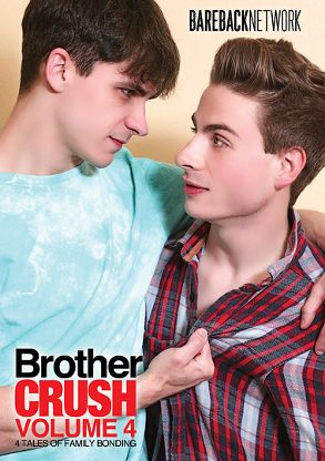 Gay Adult Movie Brother Crush 4 - front box cover