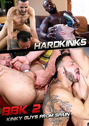 Gay Adult Movie BBK 2 - front box cover
