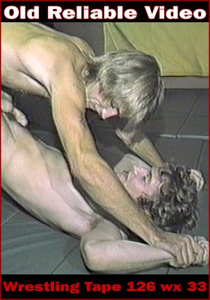 Gay Adult Movie Wrestling Tape 126 wx 33
