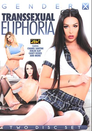 Transsexual Euphoria, starring Chanel Santini, Khloe Kay, Janelle Fennec, Pierce Paris, Lena Kelly, Casey Kisses, Jonah Marx, Bobbi Dylan, Natalie Mars, Alisia Rae, Ryder Monroe, Eli Hunter, Domino Presley and Foxxy (ts), produced by Zero Tolerance and Gender X.