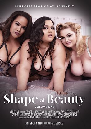 Straight Adult Movie Shape Of Beauty - front box cover