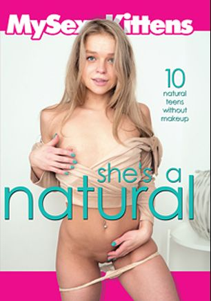 She's A Natural, starring Calibri Angel, Busty Clary, Ellen Jess, Stefy Shee, Lucette Nice, Jenny Feri, Luna Rival, Alice Nice and Lady Bug, produced by My Sexy Kittens.