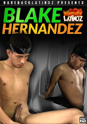 Gay Adult Movie Blake Hernandez - back box cover